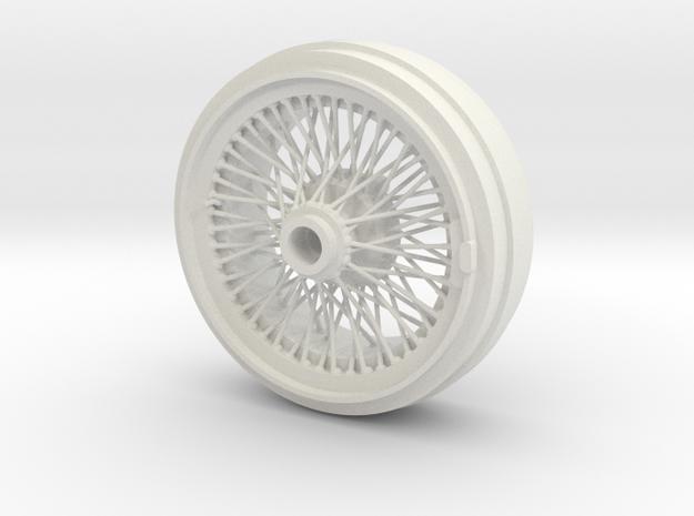 1/8 Wire Wheel Rear, with 72 spokes
