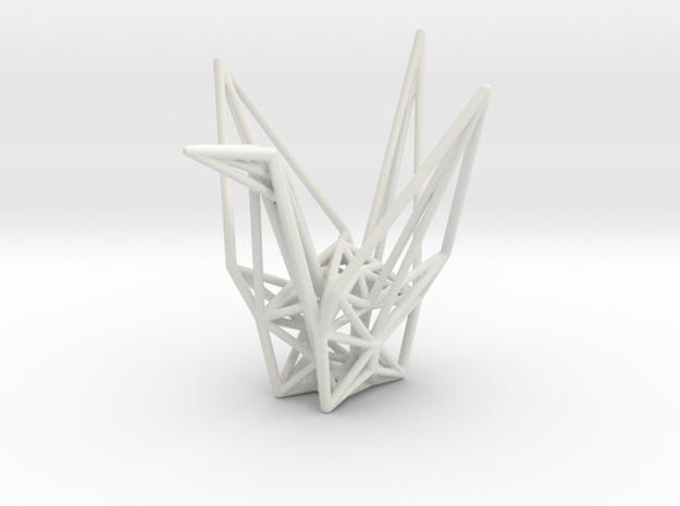 Origami Crane Wireframe