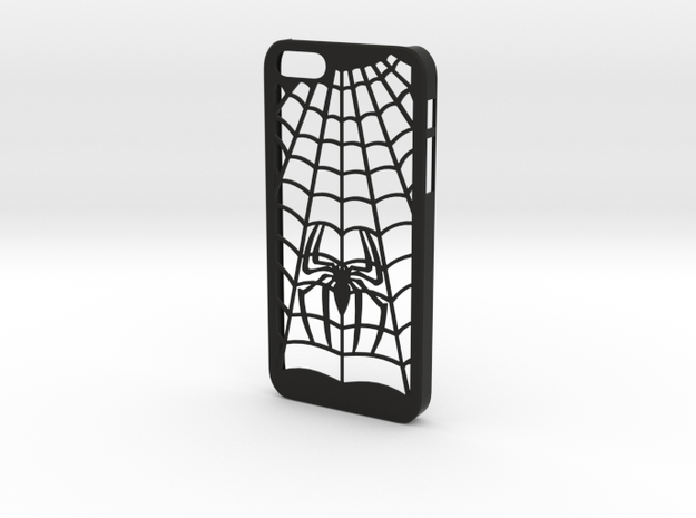 Iphone 5s Case Spider webs in Black Strong & Flexible