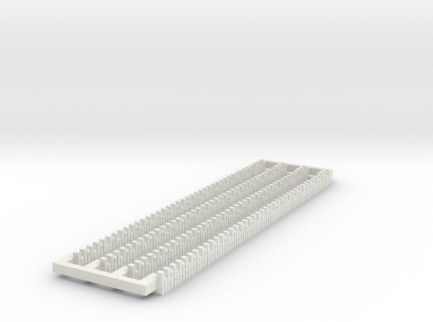 A-nori-bricks-80-corner1a-x4 in White Natural Versatile Plastic