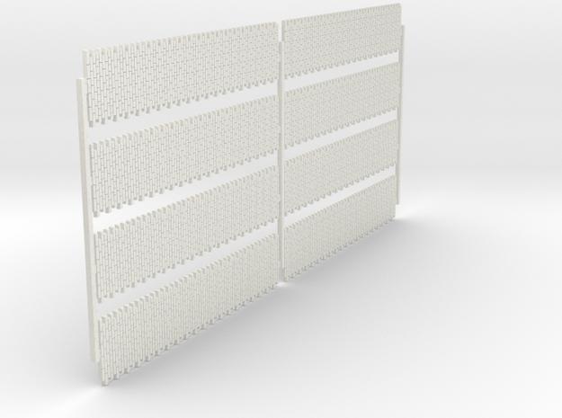 A-nori-bricks-narrow-tall80-sheet-x8-1a in White Natural Versatile Plastic