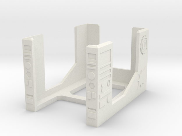 Armada Damage Deck V2 in White Natural Versatile Plastic