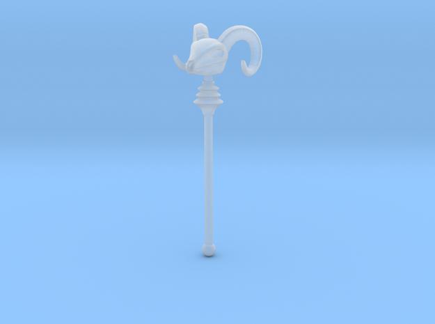 Skeletor's Havoc Staff scaled for Minimates 3d printed