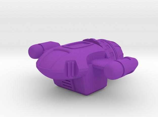 Sandfly in Purple Processed Versatile Plastic