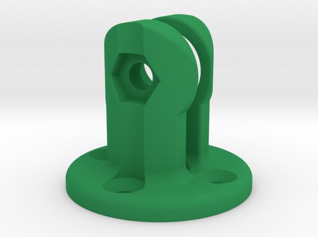 K-Edge Combo Mount Virb Interface in Green Processed Versatile Plastic