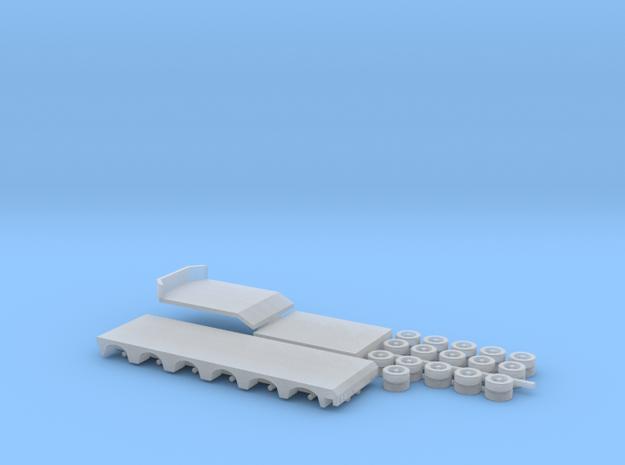 1:160/N-Scale 2+6 Axle Semitrailer
