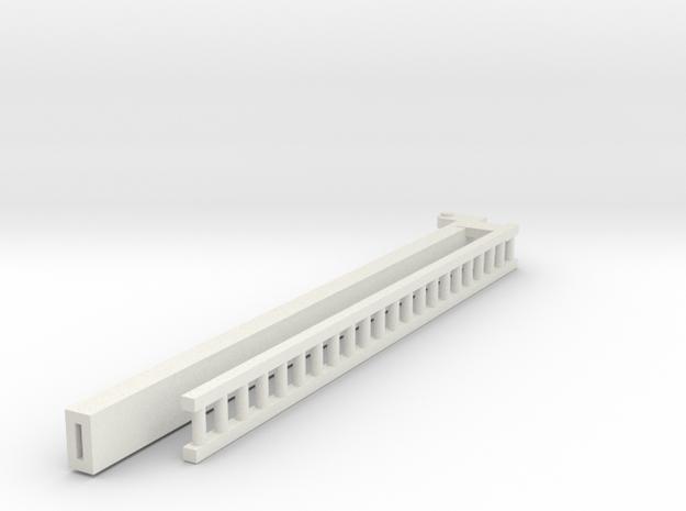 4 Of 4 Ladder in White Natural Versatile Plastic