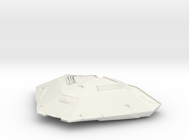 Cobra Mk III (Scale Model) in White Natural Versatile Plastic