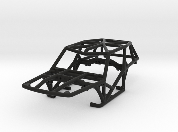 Specter v1 1/24th scale rock crawler chassis in Black Natural Versatile Plastic
