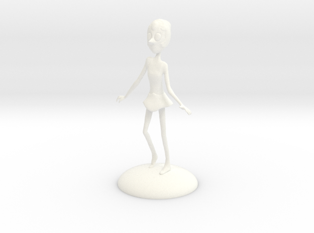 Steven Universe - Pearl in White Strong & Flexible Polished