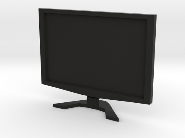 """Acer 22"""" LCD - 1:12 scale in Black Natural Versatile Plastic"""