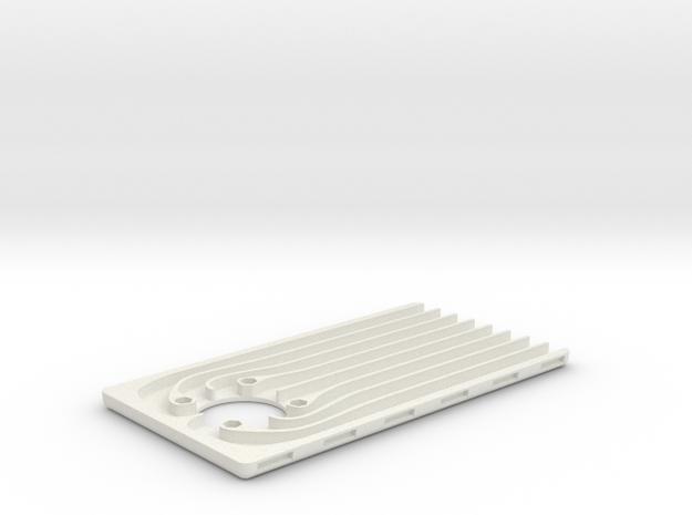 iPadCoolerFanBase in White Strong & Flexible