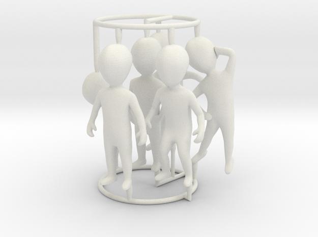 6 pose small figures kit