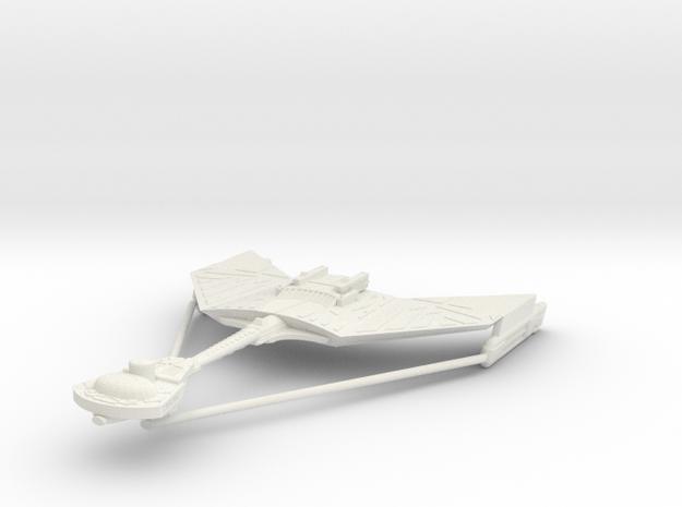 1/2500 Kteremny Destroyer D12 - 251 m (w/support) in White Natural Versatile Plastic