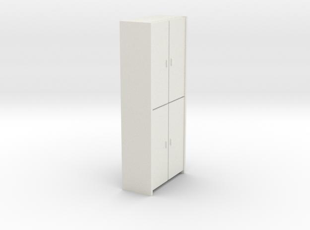 A 005 - 1 Schrank cupboard  1:50 in White Natural Versatile Plastic