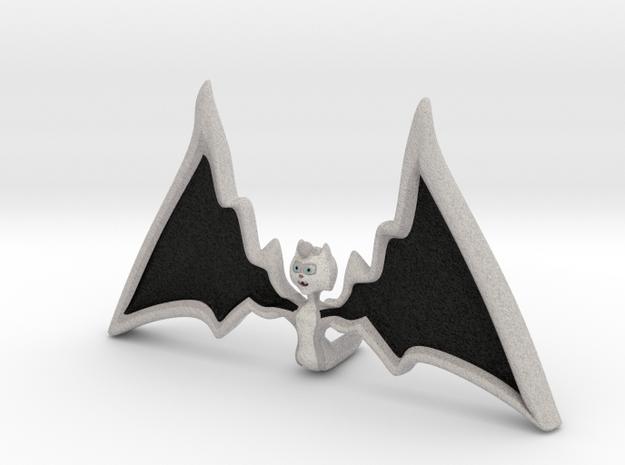 Halloween Hollowed Figurine: WarMaiden Batteeth in Full Color Sandstone