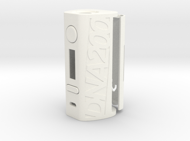 DNA200 Premium Case in White Processed Versatile Plastic
