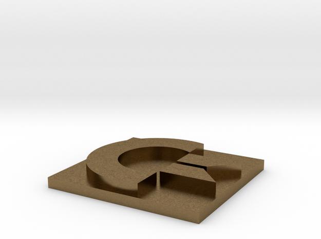 Commodore Logo 3d printed