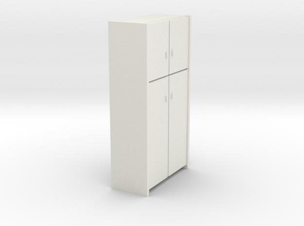 A 008 - 1 Schrank Cabinet 1:50 in White Natural Versatile Plastic