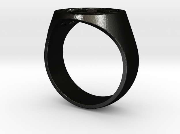 Enneagram Ring - Thick Band - Size 11