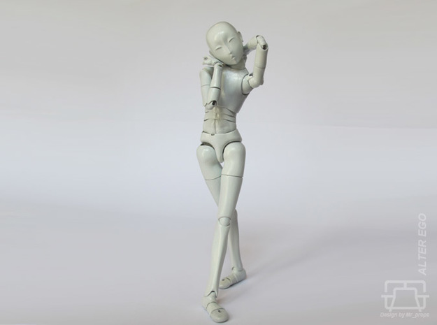 ALTER EGO 1/12 scale doll kit in White Strong & Flexible