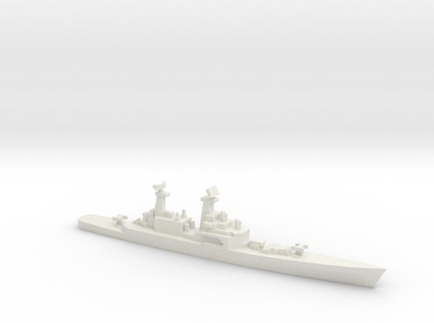 USS CGN-25 Bainbridge, 1990 layout, 1/1800