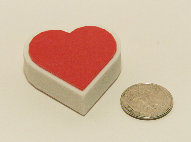 Zelda Fan Art: TLoZ: Heart Container 3d printed