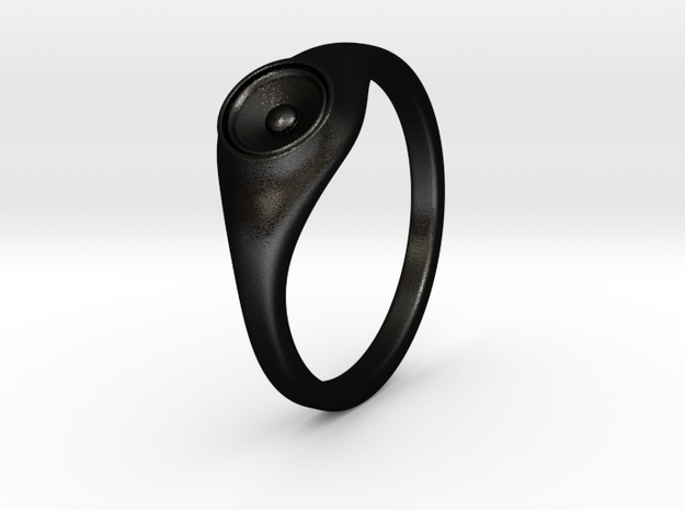 Liza - Ring - US 6¾ - 17.12mm 3d printed