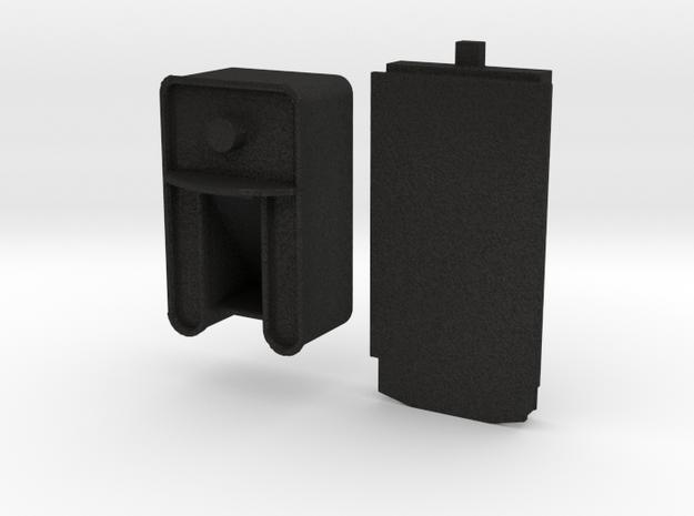 HOn3 Godchaux Tender for Minitrix 0-4-0 Wood Burne in Black Acrylic
