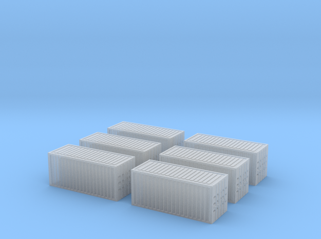 1/450 Container 20ftx6 in Smooth Fine Detail Plastic