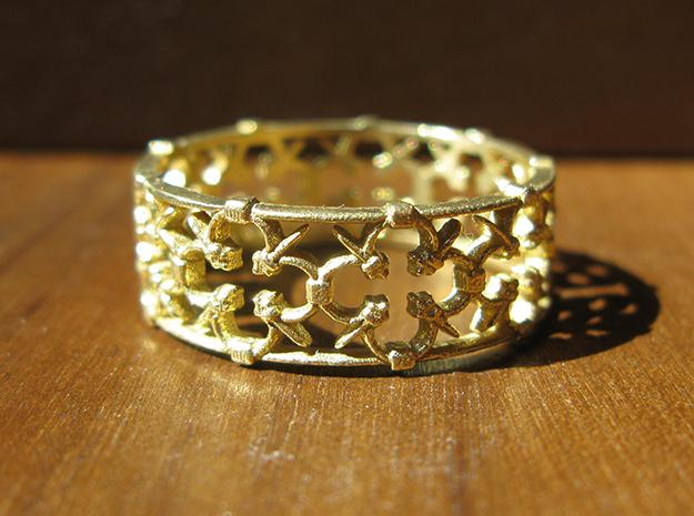 Gothic Lattice Ring (Open)