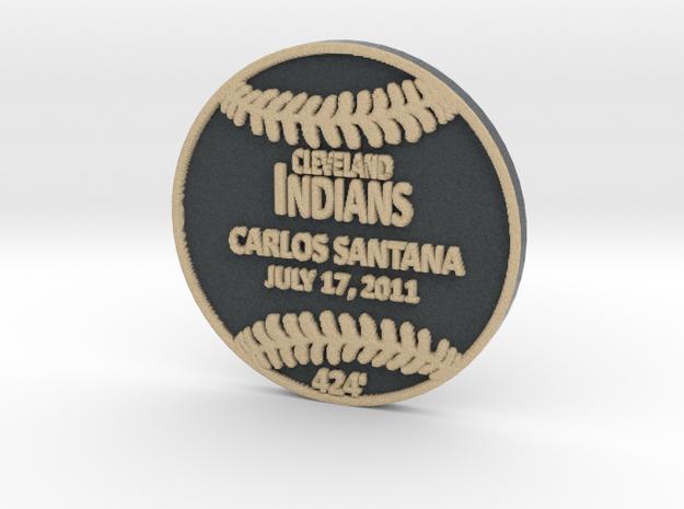 Carlos Santana in Full Color Sandstone