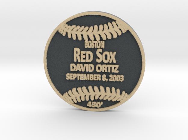 David Ortiz in Full Color Sandstone