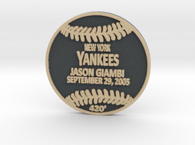Jason Giambi in Full Color Sandstone