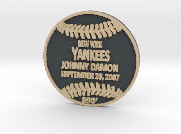 Johnny Damon in Full Color Sandstone