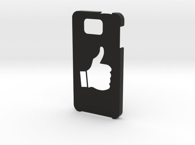 Samsung Galaxy Alpha Thumbs up case  in Black Strong & Flexible