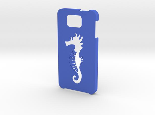 Samsung Galaxy Alpha Hippocampus case in Blue Processed Versatile Plastic