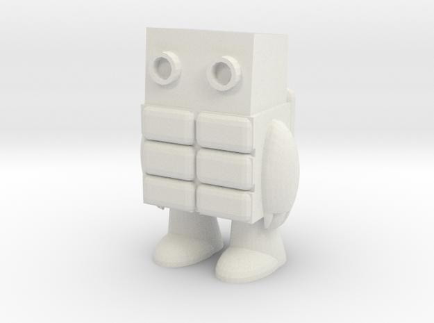 Little Guy from Secret Coders in White Strong & Flexible