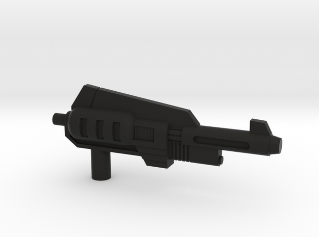 Snarl Gun 60 mm in Black Natural Versatile Plastic