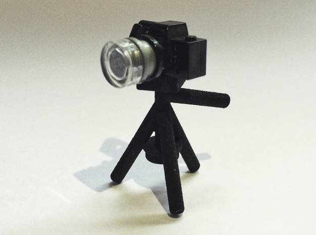 Camera Tripod for Lego Cameras in Black Natural Versatile Plastic