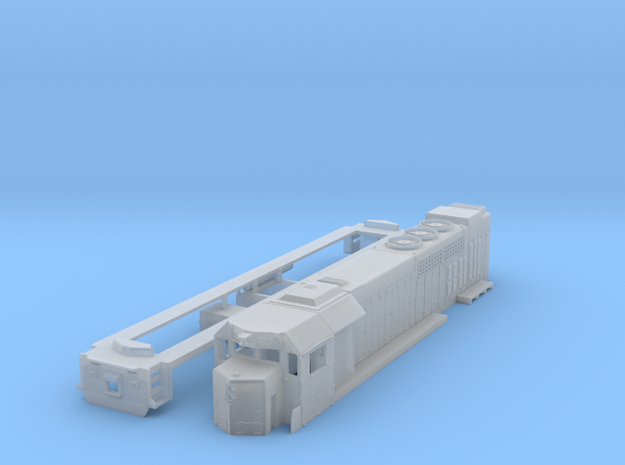 GP40tc locomotive in 1:160 scale