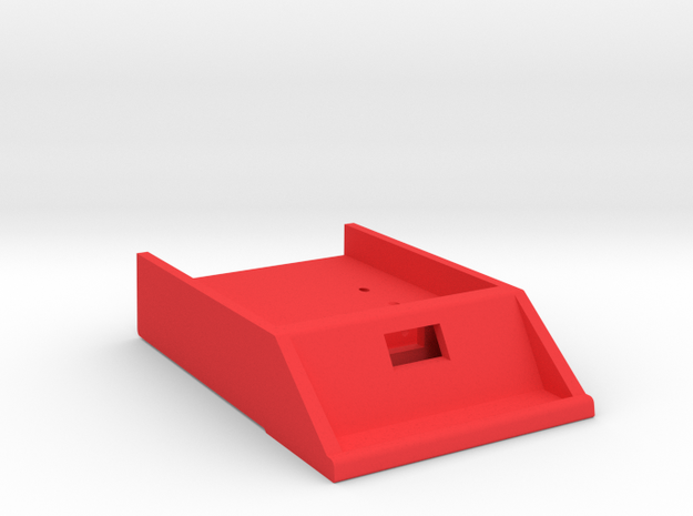 HP-71 Front Port Module w/ Opening in Red Processed Versatile Plastic
