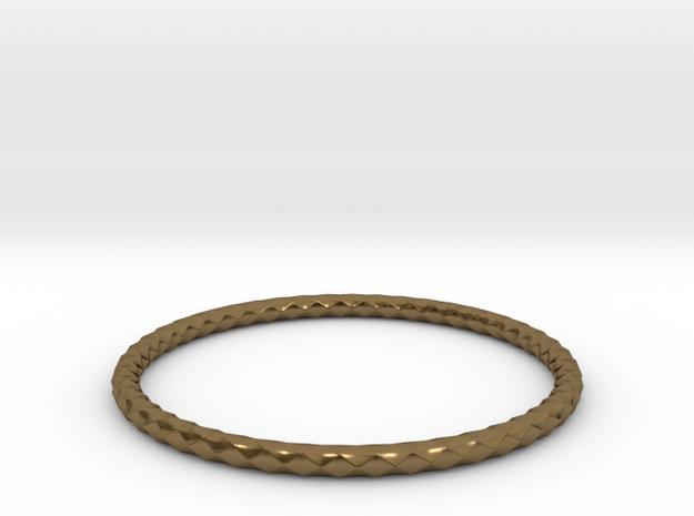 Diamond Pattern Bracelet USA Size Medium