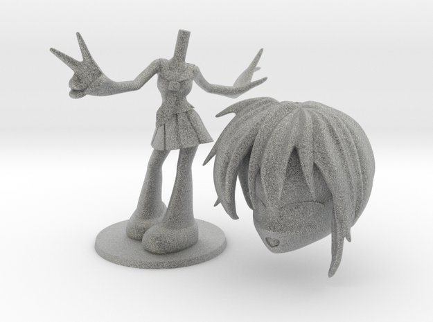 AniMe - Teeny Figurine - Schoolgirl 3d printed