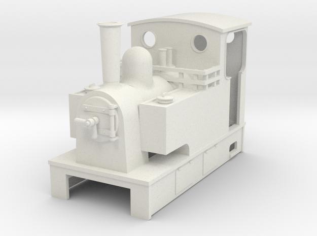 Sn2 Kerr stuart type tram loco  in White Natural Versatile Plastic