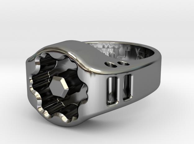 US8 Ring XIX: Tritium in Premium Silver