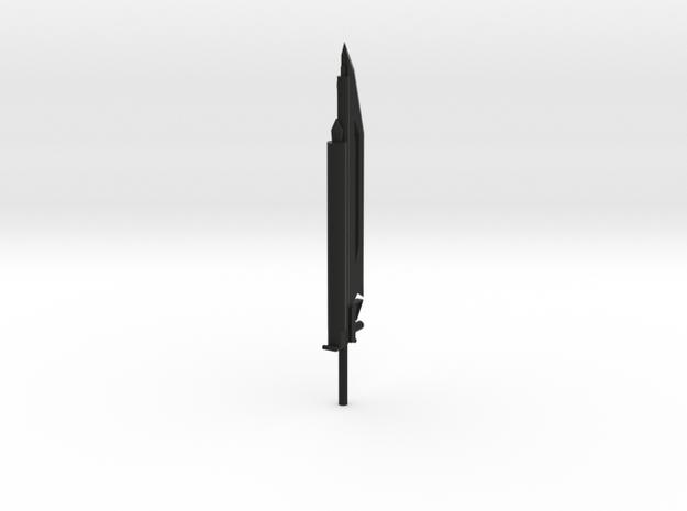 The Mighty Gun Sword in Black Strong & Flexible