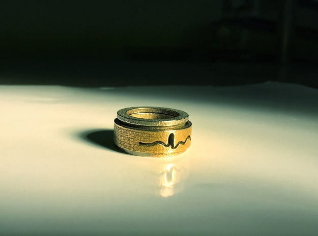 ECG spinner ring (inner part 1 of 3)