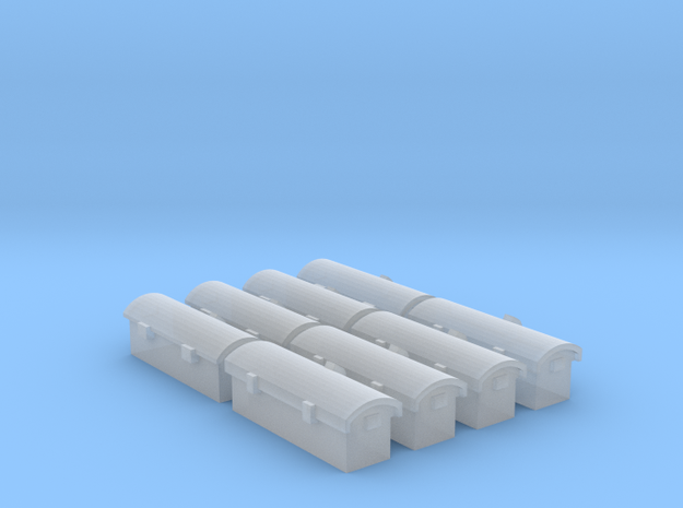 Tool Chests in Smooth Fine Detail Plastic