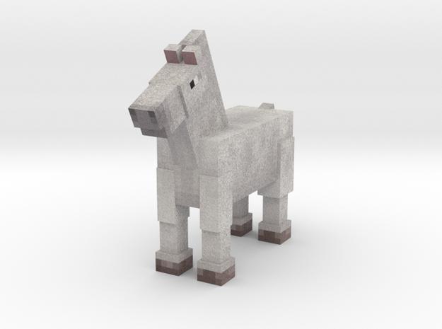 Horse 001 in Full Color Sandstone